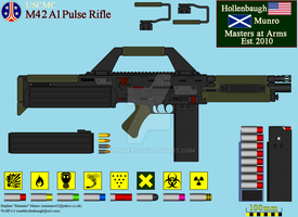 M42 Pulse Rifle by Munners