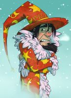 A wizzard in the blizzard by wildragon