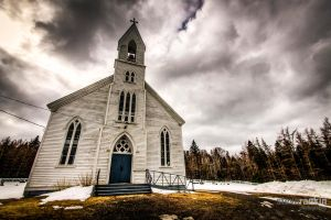 Glencoe Mills Church by steverankin