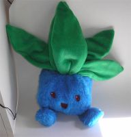 Pokemon - Oddish Plushie by ichigo-pan43