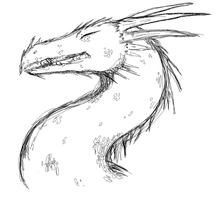 Spined Dragon by StarRaven