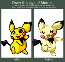 Draw this again- Meme by krokus00