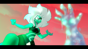 SU Malachite scene redraw!!! by pastapiggypiggy