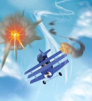Sky Kid- Strip 5 Panel 2 by Zubby