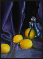 Lemons In Oils by SmorgArt