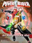 Saban's Power Rider marketing poster (fan-made) by Andr-uril