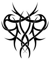 Tribal heart by Forace