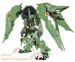 NZ-666 Bahamut Kshatriya by GunZcon