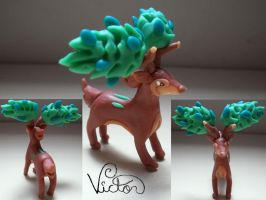 586 Sawsbuck Summer by VictorCustomizer