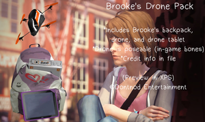 LiS - Brooke's Drone Pack by angelic-noir