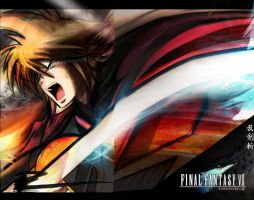 FF VII- To Live and Die by Fire by The-Longfall-of-1979