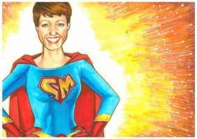 Connie's Mum- pic for a Mother's Day Card by Hognatius