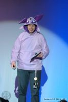 Espeon hoodie in action by invader-gir