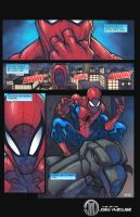 SPIDER PAGE FINAL by JoeyVazquez