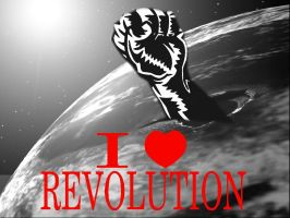 i heart revolution by AsaGreen