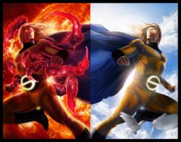 VOID VS SENTRY by jamga