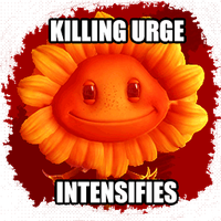 PvZ GW : Murderous Sunflower by Buba2426