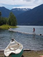Ross Lake Swimming by AmyinWonderlandofOz