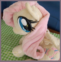 Singing-Talking FLuttershy - Handmade Plushie by Piquipauparro