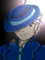 Crossover: Jack Frost as The Mask by BlueRoseAngel15
