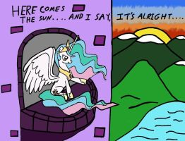 Celestia: Here Comes The Sun by Closer-To-The-Sun