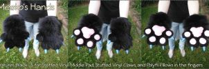 [C] Meeko's Fursuit Hands by ErrorFactor