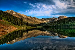 Colorado HDR Lake by designKase