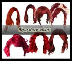 Red Hair Stock by Owl666PS