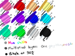 A Note about Digital Art Shading Styles by AD-SD-ChibiGirl