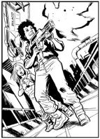 ALIENS: Ripley Enraged by ADAMshoots