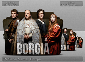 Borgia EU - Tv Serie Folder Icon by atty12