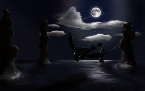 Night fly by Taliesin-the-dragoon