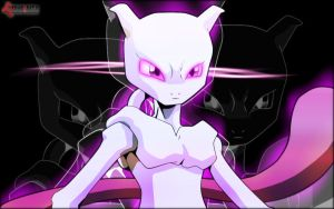 Mewtwo by Kidel