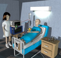 Hospital Scene finished by ThereminStudio