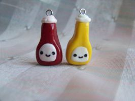 Ketchup and Mustard by CuteTanpopo