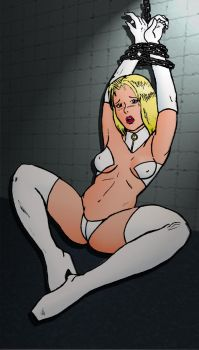 Emma Frost Captured by MisterFear