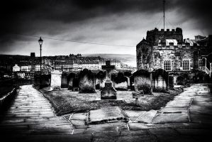 St Mary's Church and Whitby... by TheBaldingOne