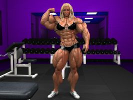 Tracy Escalanti pumped biceps by Tigersan