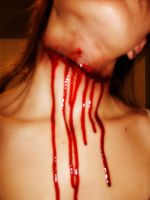 Make up stuff: Slit throat by someRandomgirl13