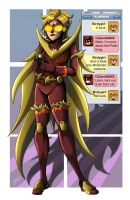 F is for Flamebird by MachSabre