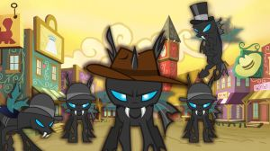 Changeling Cowboys by Grazehunter