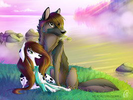 Evening by MittensTheNoble