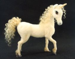 Needle Felted Unicorn by ZadaCreations