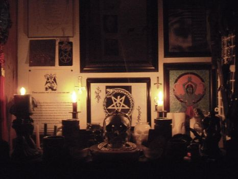 My altar... once again. by kalter-stahl