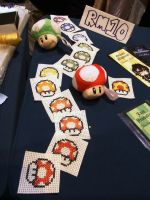 Mario Mushrooms by SugarGaL