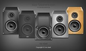 iMax Speakers Icons by mx-steel