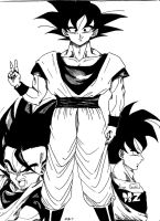Son Goku by DBZPercussionist27