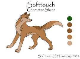 Softtouch Char Sheet by HuskiePup