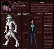 Alex Character Reference by sugarpoultry