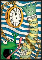 Frogs, clocks and automobiles. by christobah